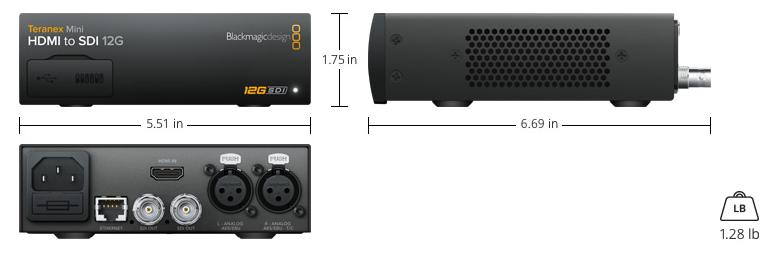 teranex mini HDMI a SDI 16G