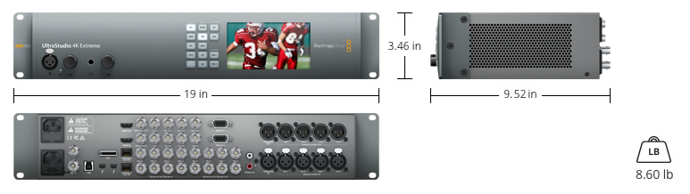 Blackmagic design 4k extreme