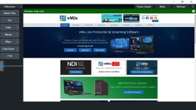 vMix software interfaccia web touch